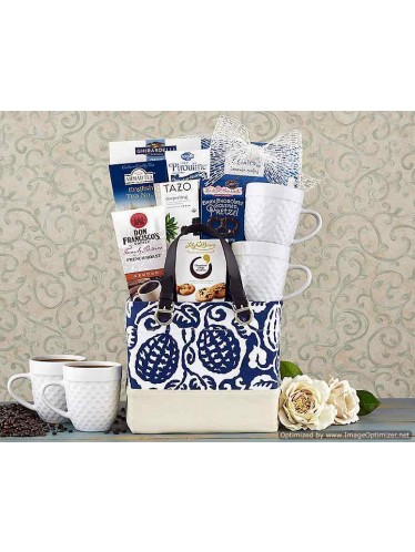 Coffee, Tea and Cocoa Assortment Gift Basket