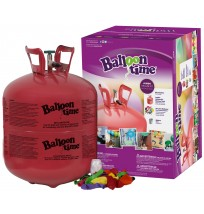 Disposable Helium Tank-  50 Balloon Time Kit