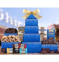 Ghirardelli Chocolate Tower Gift Basket