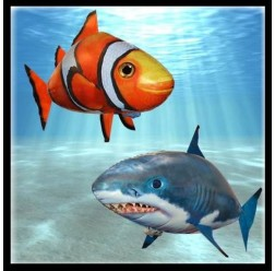 Air Swimmers Combo Pack - Shark and Clownfish