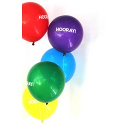 FUNSATIONAL HOORAY BALLOONS