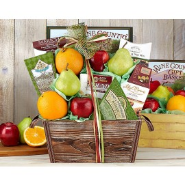 Fruit and Favorites Gift Basket