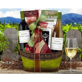 Little Lakes Cellars Double Delight Gift Basket