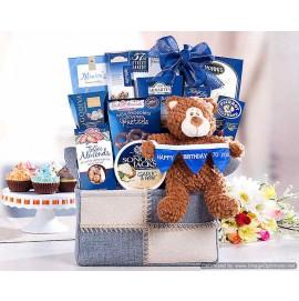 Bear Hugs Happy Birthday To You Gift Basket