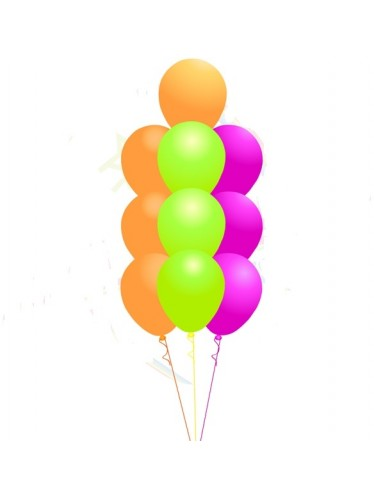 4 Levels Balloon Bouquet Centre Piece Tree (10 Balloons)