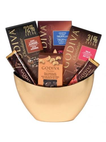 Godiva Lovers Gift Basket