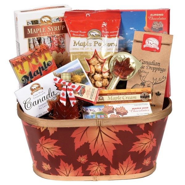 d1e8fa8c67a Canadians Maple Gift Basket