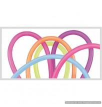 QUALATEX 260Q Animal Twisty Neon Assortment 100ct