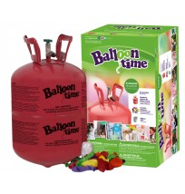 Disposable Helium Tank-  30 Balloon Time Kit