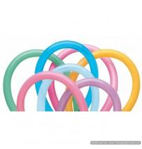 QUALATEX 160Q Animal Twisty Vibrant Assortment 100ct