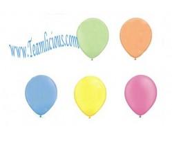 12 Inch Neon Latex Uninflated Balloon (100 Balloons)