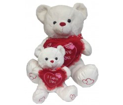 "Teddy Bears - 22"" Valentine Bear"