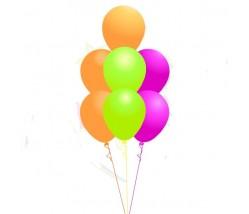 Center piece Trees Balloon Bouquet (7 Balloons)
