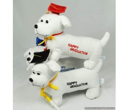"Animal Bear - 12"" Graduation dog /pen"