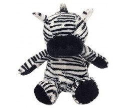 "Animal Bear - 15"" Embroidery Zebra"