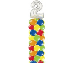 Balloon Column Number Top