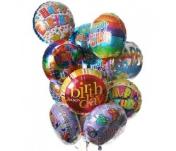 Keep Calm It's Your Birthday Balloon Bouquet