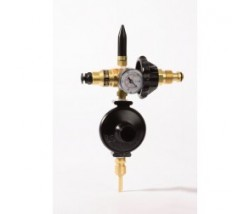 Dual foil filler with latex tilt valve