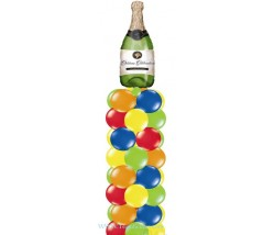 Champagne Balloon Column
