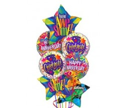 Anniversary Congratulations Balloon Bouquet