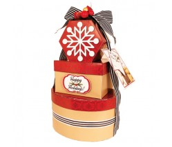 Santa's Special Tower & Season's Greetings Gift Tower