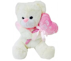 """11"""" ITS A GIRL Teddy bear"""