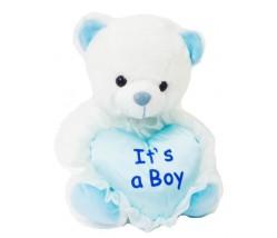 """9"""" ITS A BOY Teddy bear"""