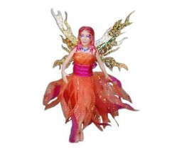 Flitter Fairies Mara (Fire Fairy)