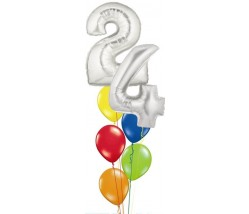 Megaloon Age Balloon Bouquet