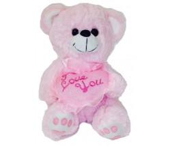 "Teddy Bear – 10"" Pink Bear Heart"
