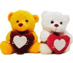 """Teddy Bear – 9"""" Out Mixed Color ( Love )"""