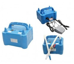 Timer Electric Balloon Air Pump with foot pedal