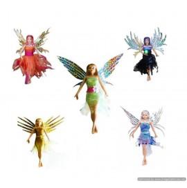 Flitter Fairies 5 Pack - Aerioth, Alexa, Daria, Eva & Mara
