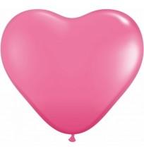 3 FT Rose Heart Balloon Bouquet